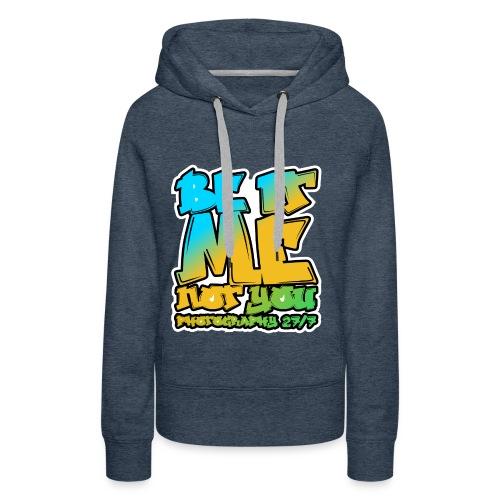 Hip-Hop Logo - Women's Premium Hoodie