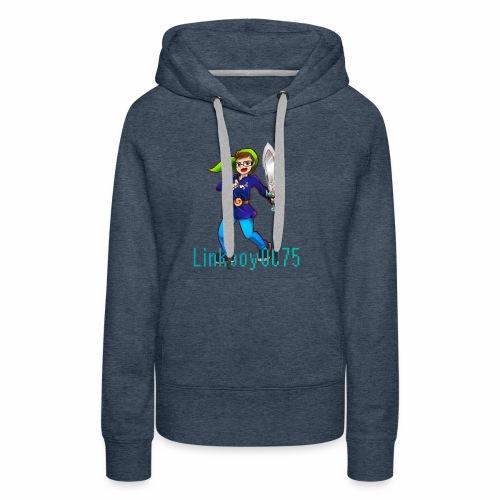 Linkboy0075 - Frauen Premium Hoodie