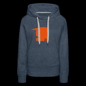 Orange Mussalini - Frauen Premium Hoodie