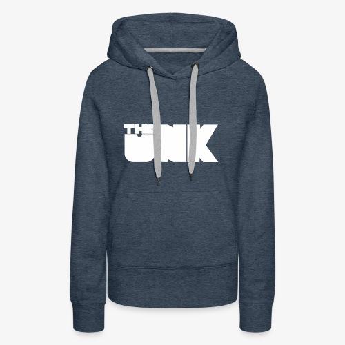 The Unk Wit Zonder Border - Vrouwen Premium hoodie