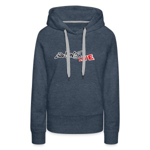 Saikone Graffiti Livestreams Original - Frauen Premium Hoodie