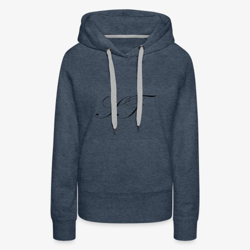SF HANDWRITTEN LOGO BLACK - Women's Premium Hoodie