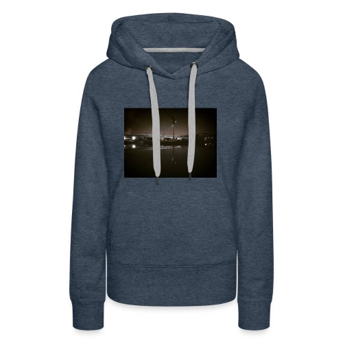 Dark Water View - Sweat-shirt à capuche Premium pour femmes