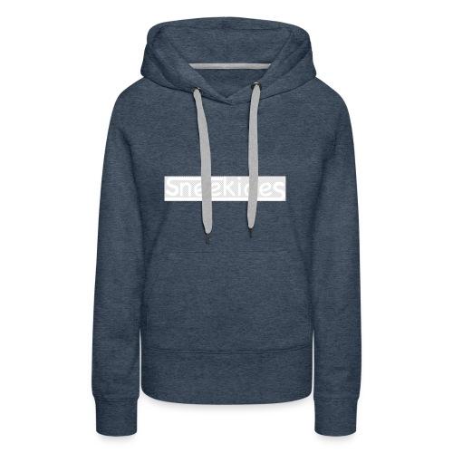 sneekides logo - Vrouwen Premium hoodie