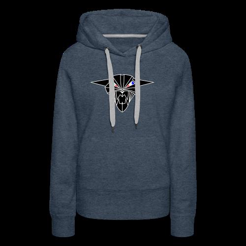 BIONIC DEVIL CAT - Sweat-shirt à capuche Premium pour femmes