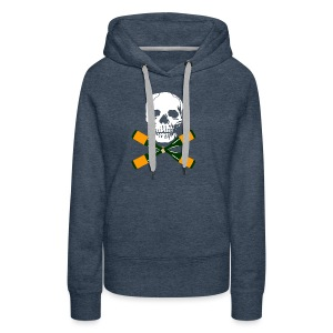 Skull and Bucky Bottles 2 - Women's Premium Hoodie