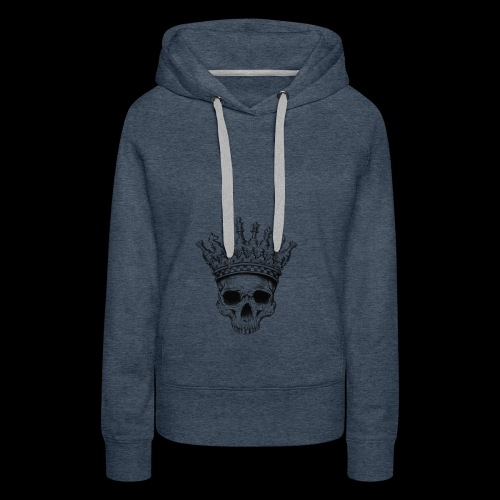 Heavy lies the Crown - Frauen Premium Hoodie