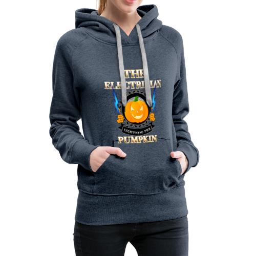 The Electrican lightning the Pumpkin - Frauen Premium Hoodie