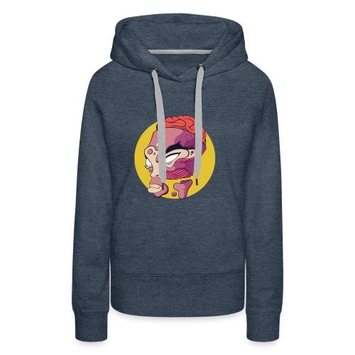Open minded - Sweat-shirt à capuche Premium pour femmes