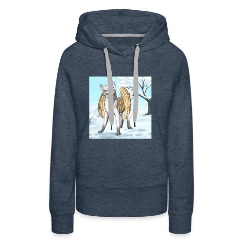 Macht der wölfe - Frauen Premium Hoodie
