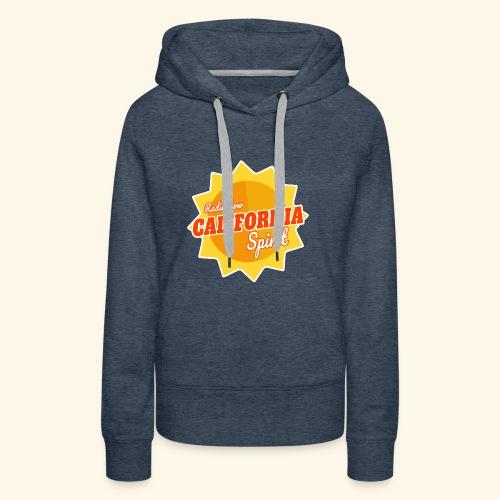California Spirit Radioshow - Sweat-shirt à capuche Premium pour femmes
