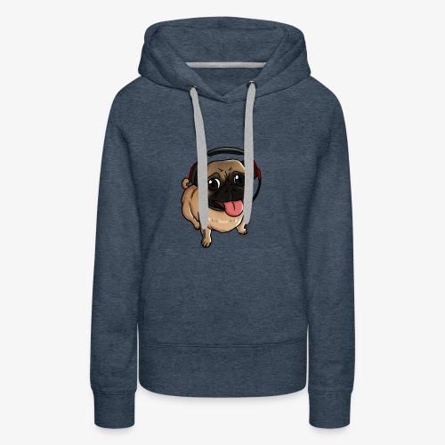 Gamer Puppy - Women's Premium Hoodie