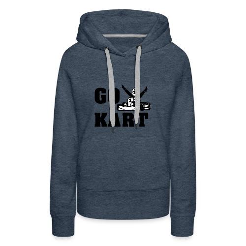 Go kart - Sweat-shirt à capuche Premium pour femmes