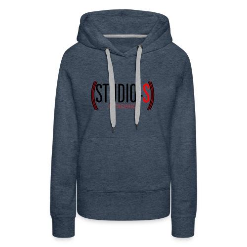 Basic logocut tanktop - Vrouwen Premium hoodie