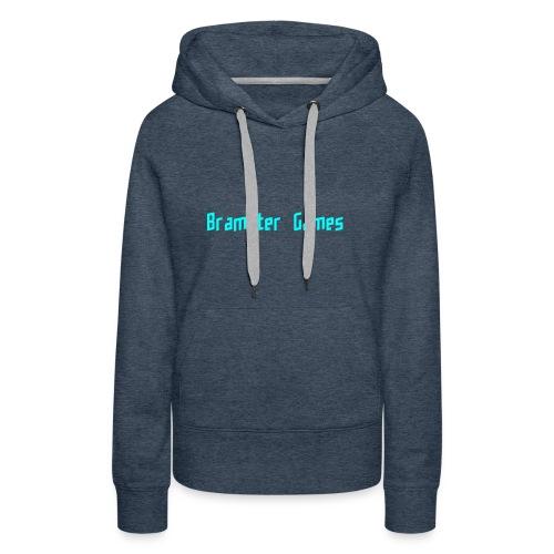 Bramster Games LichtBlauw - Vrouwen Premium hoodie