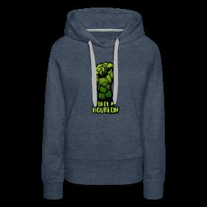 Force et houblon (Officiel) - Sweat-shirt à capuche Premium pour femmes