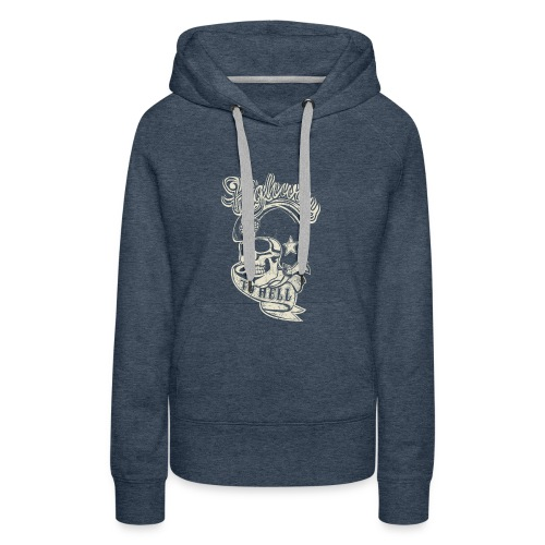 Highway to Hell - Vrouwen Premium hoodie