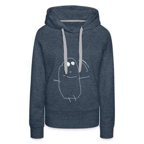 move it - Sweat-shirt à capuche Premium pour femmes