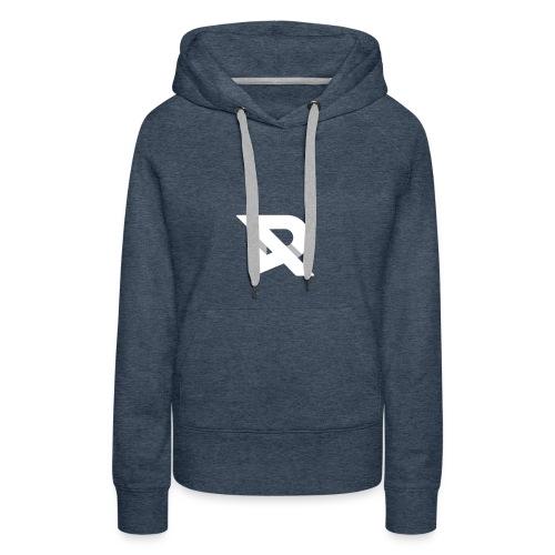 RubiiDesigns X WhiteT - Dame Premium hættetrøje