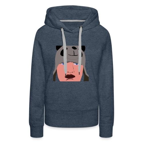 HUB PANDA - Sweat-shirt à capuche Premium pour femmes