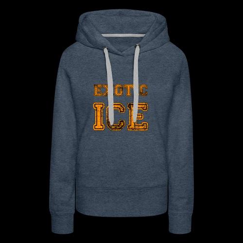 EXOTIC ICE - Dame Premium hættetrøje