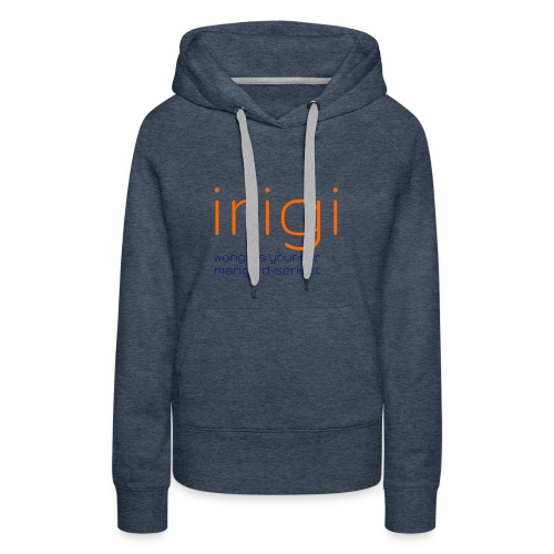 irigi-logo-006 - Women's Premium Hoodie