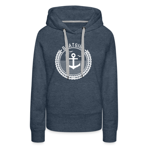 BoatGirl - Anchor - Frauen Premium Hoodie