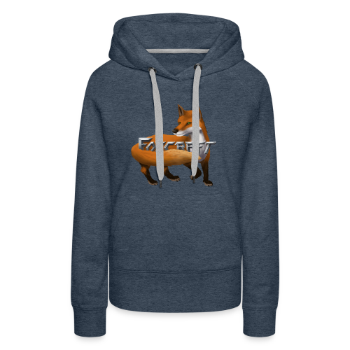Foxcraft T-Shirts - Women's Premium Hoodie