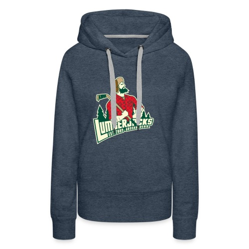 Lumberjacks Logo - Premiumluvtröja dam