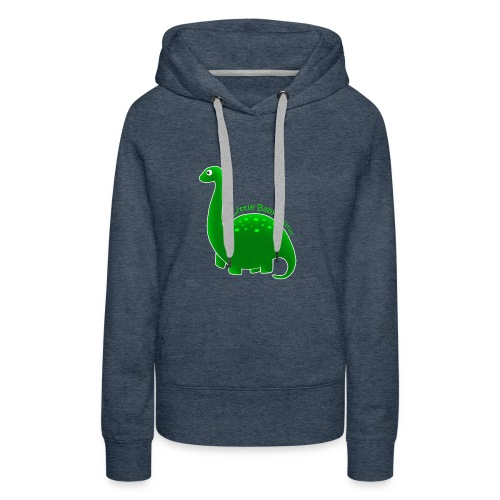Green Little Baby Saurus - Women's Premium Hoodie