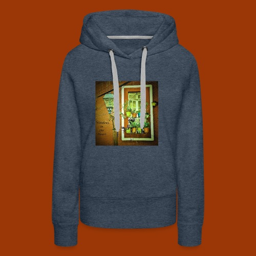 Windows in the Heart - Women's Premium Hoodie