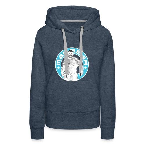 Mad.bear T-shirt blue - Sudadera con capucha premium para mujer