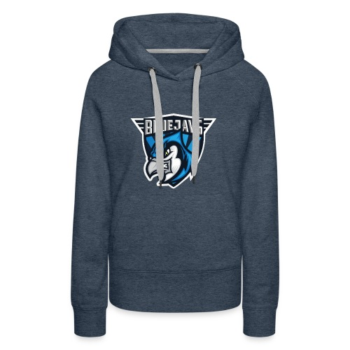 BLUEJAYS Logo - Frauen Premium Hoodie