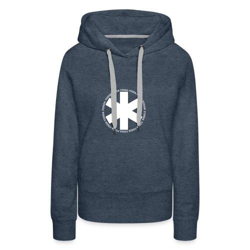 yogga_2 - Sweat-shirt à capuche Premium pour femmes