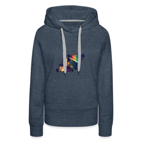 Disconnected Logo T-Shirt - Vrouwen Premium hoodie