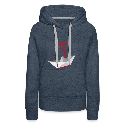 It Camiseta - Sudadera con capucha premium para mujer