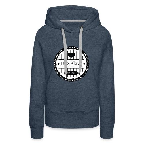 ItsXBlaze Logo 3 Hoodie - Vrouwen Premium hoodie