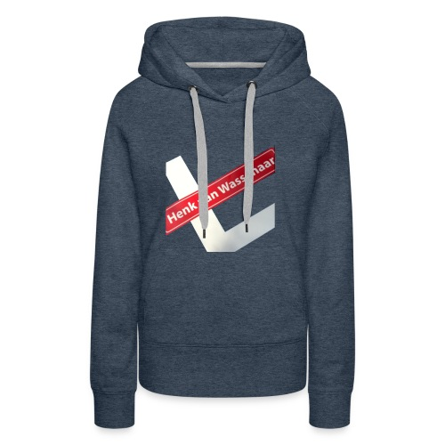 Henkvanwassenaar shirt - Vrouwen Premium hoodie