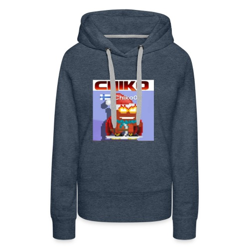 chiko00 fain juttuja :D - Women's Premium Hoodie