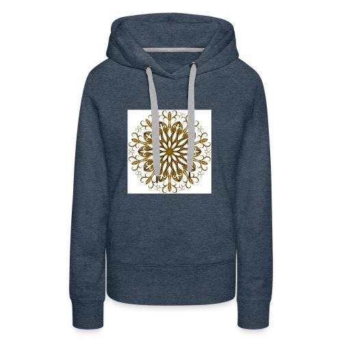 gold-filigree - Frauen Premium Hoodie