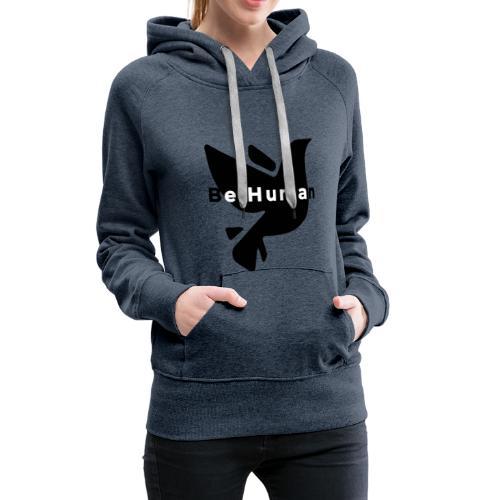 be human liberty - Vrouwen Premium hoodie