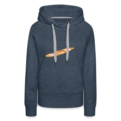 Collection Flute - Sweat-shirt à capuche Premium pour femmes