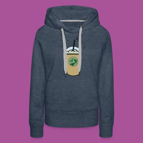 Grüner_Becher - Frauen Premium Hoodie