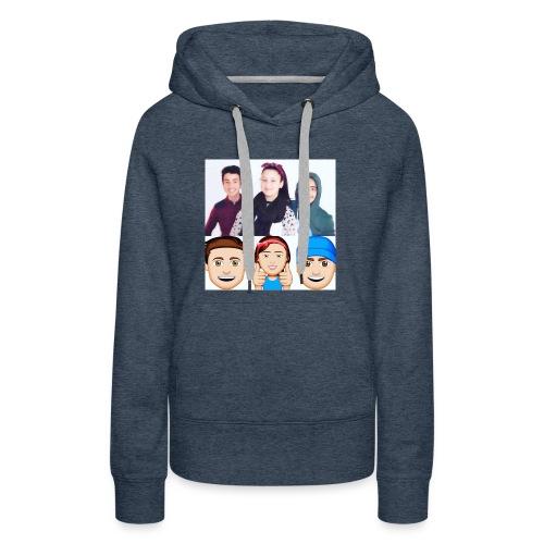 CHEZ LES NOK# - Sweat-shirt à capuche Premium pour femmes