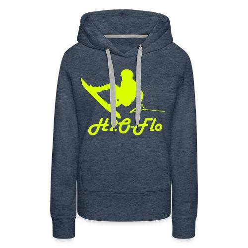 H2O-Flo - Frauen Premium Hoodie