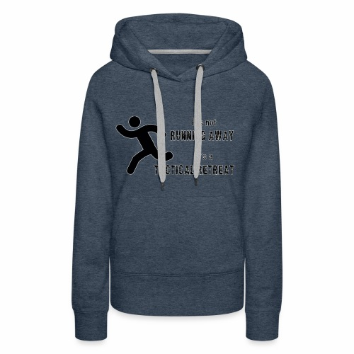 Tactical Retreat - Women's Premium Hoodie