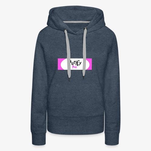 PurifyFree - Sweat-shirt à capuche Premium pour femmes