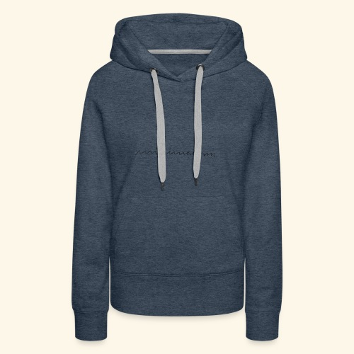 minimalism - Frauen Premium Hoodie