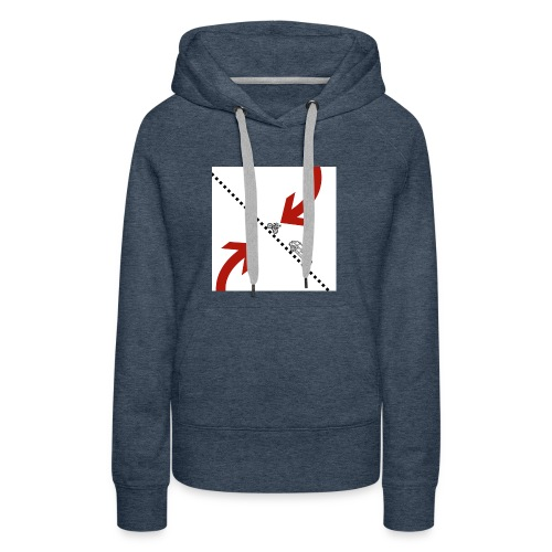 Arrow - Vrouwen Premium hoodie