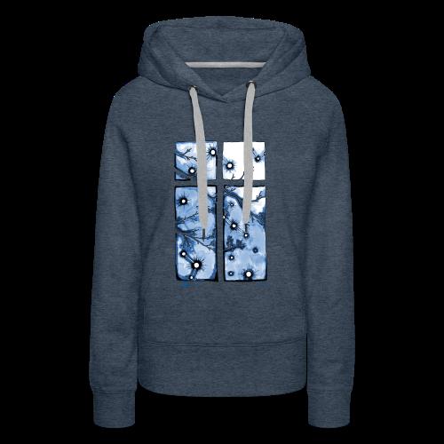 Für immer und ein Tag (blau) - Frauen Premium Hoodie